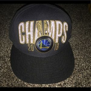964c014224040 New Era Accessories - Golden State Warriors NBA Champs NewEra SnapBack